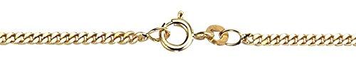 Pantserketting in 585 gouden ketting halsketting in 60 cm geelgoud 14 karaat - 1.1160