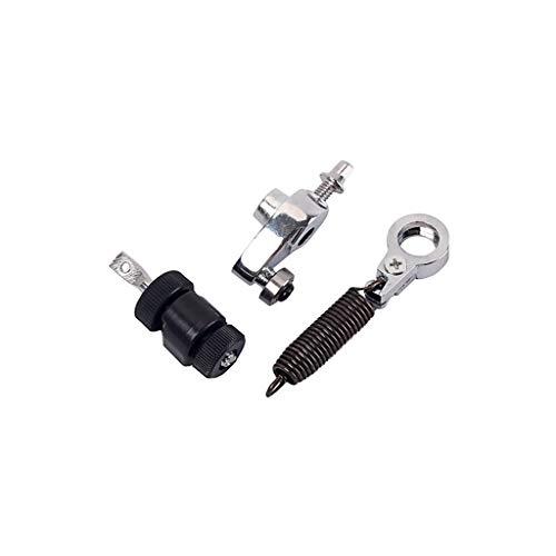 Alnicov - Kit de pedal de pedal de bombo para batería con