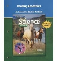 Science Level Green, Reading Essentials, An Interactive Student Textbook (INTEGRATED SCIENCE)
