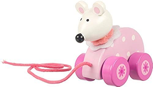 Orange Tree Toys Pull Along Rosa Mouse by Orange Tree Toys