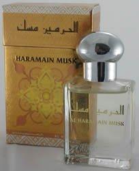 Haramain Musk Al Haramain Perfume Oil Attar with White Musk and Sandalwood 15ml (15ml) by Al Haramain