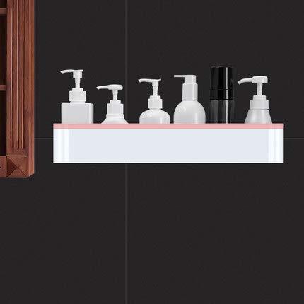 LAZY CAT Almacenamiento en el cuarto de baño Bastidores de almacenamiento de pared organizador de toallas para cocina, hogar, jardín, accesorios de baño (color gris oscuro)