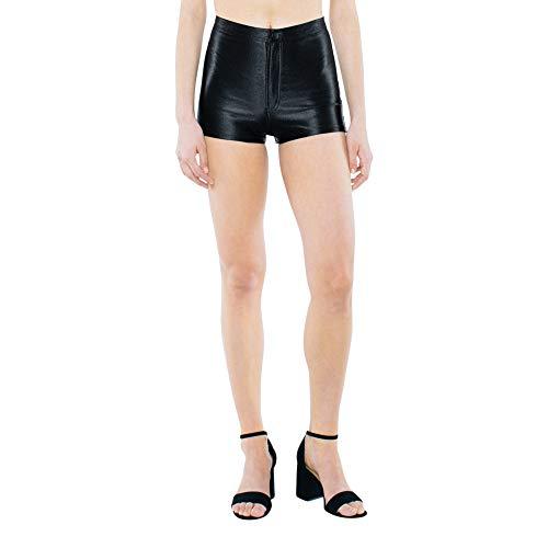 American Apparel Damen Disco Legere Shorts, schwarz, X-Klein