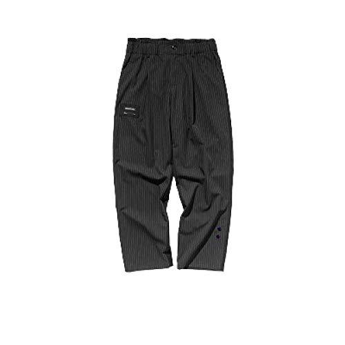 Pantalons pour Hommes Style Pantalon de Jogging Pantalons de survêtement Sport Casual Couleur Unie Coutures Stretch Waist Pantalon décontracté Droit pour Hommes