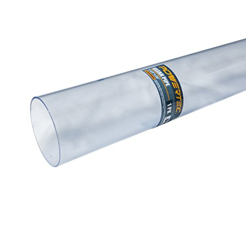 POWERTEC 70176 2-1/2-Inch x 36-Inch Long Clear Pipe