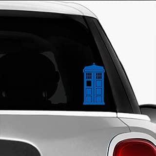 Doctor Who Tardis SCI-FI/Comics/Games Automotive Decal/Bumper Sticker