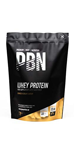 PBN Whey Protein Powder 1kg Cookies