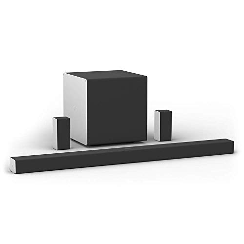VIZIO 46-Inch 5.1.4 Premium Home Theater Sound System with Dolby Atmos and Wireless Subwoofer (Renewed)