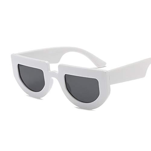 Kleine Cat Eye Frauen Sonnenbrille Promi Sexy Sonnenbrille Flat Top Lady Oval Sonnenbrille