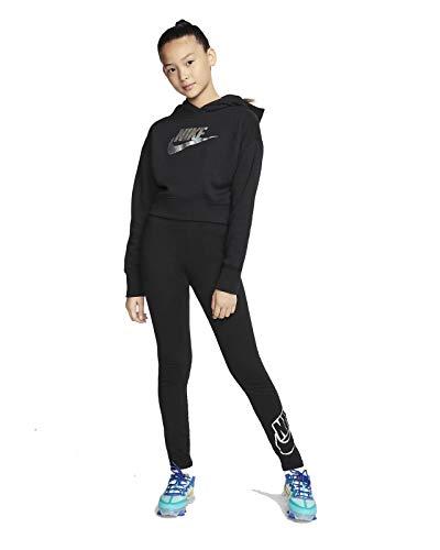 Nike Kinder FF Crop Sweatshirt, Black, S