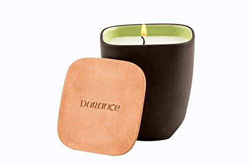 Durance en Provence Kollektion 'ArtDesignNature' - edle Duftkerze 'Anregender Tee' (Granité de Thé) 190 g im Keramikgefäß von Revol
