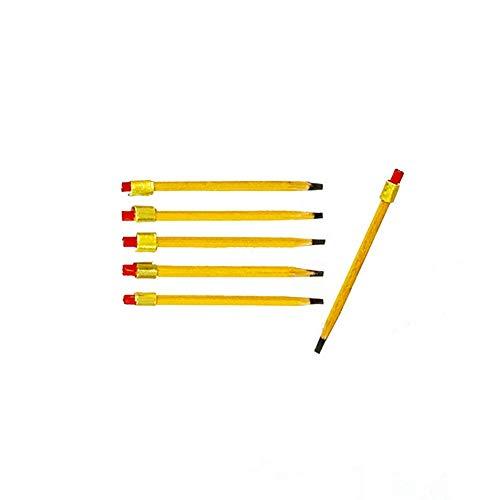 Melody Jane Dollhouse 6 Pencils Miniature Study Office School Desk Accessory 1:12 Scale