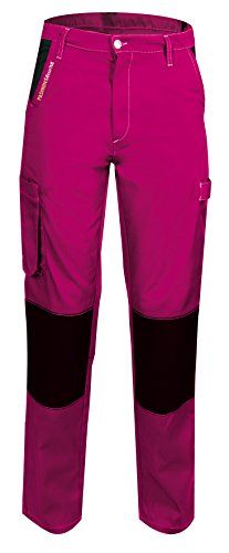 Fashion Security 660001 Pep's werkbroek Taille L - 44/46 Roze/Zwart