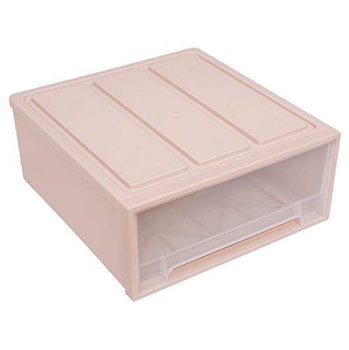 ASESS Cajón hogar Armario plástico Caja de Cocina Armario Transparente
