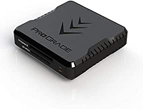 CFexpress Type B and SD UHS-II Dual-Slot Memory Card Reader by ProGrade Digital | USB 3.2 Gen 2 for Professional Filmmakers, Photographers & Content Creators