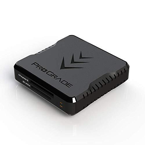CFexpress Type B und SD UHS-II Speicherkartenleser mit zwei Steckplätzen von ProGrade Digital | USB 3.2 Gen 2 für professionelle Filmemacher, Fotografen und Content-Ersteller…