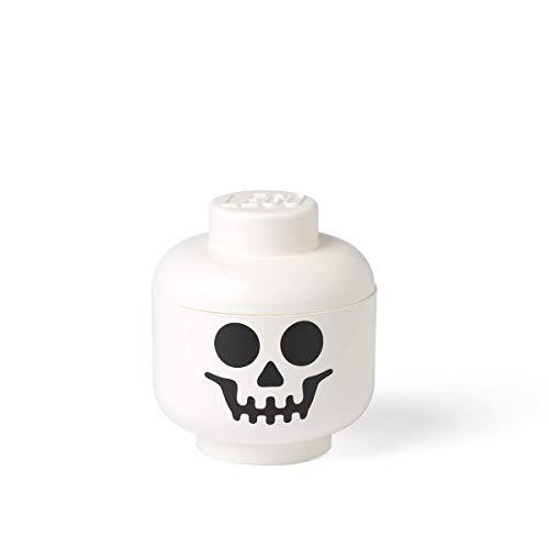 LEGO - Caja de Almacenamiento con Forma de Cabeza Skeleton (Room Copenhagen A/S 40310109)