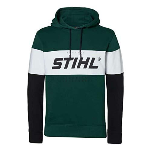 Stihl Hoodie Schwarz/Grün Gr. XXL