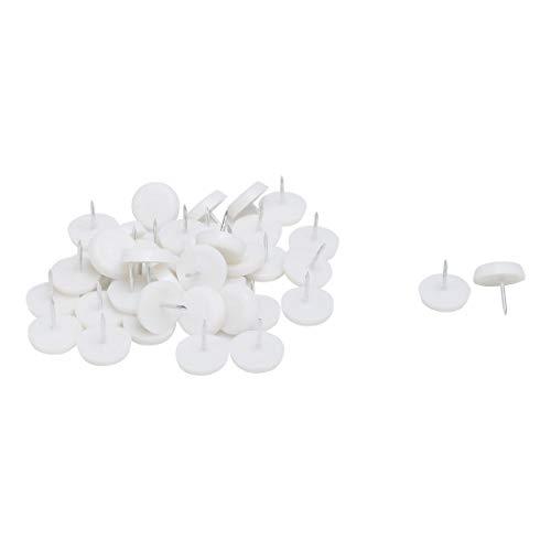 Sourcingmap Plastique de Protection pour Pieds de chaises/Meubles 41pcs Glide-Ongles Pieds