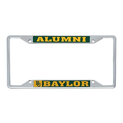 Desert Cactus Baylor University Bears Metal License Plate Frame for Front or Back of Car Officially Licensed (Alumni)