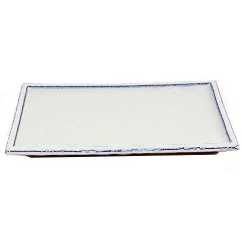 Bonsai 53352 Dessous de Verre carré Crème 28 x 17 cm