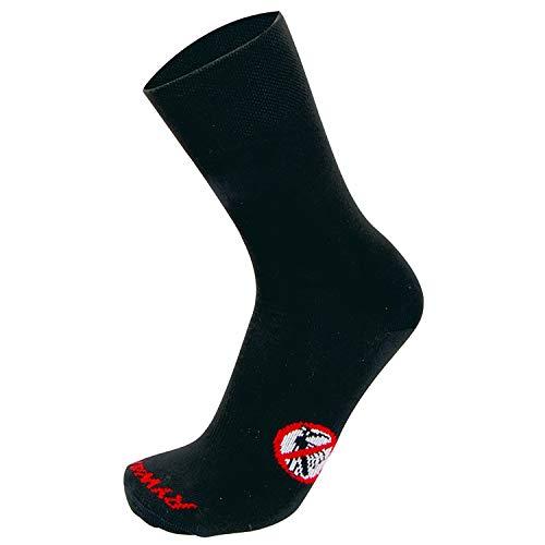 RYWAN Anti-Moskito Mückenschutz Socken, Black, 44-46