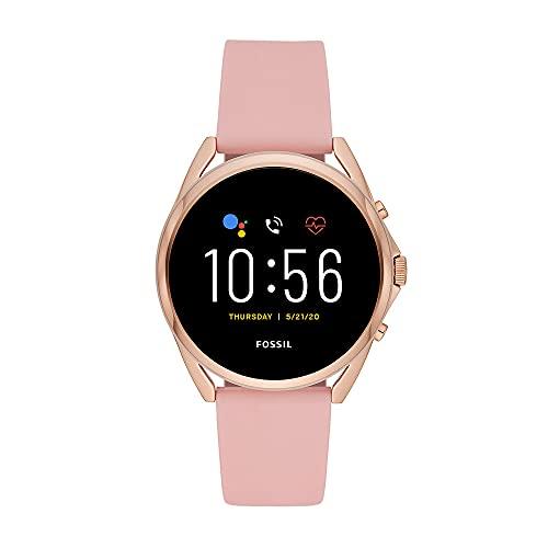 Fossil Connected Smartwatch Gen 5 LTE para Mujer con pantalla táctil , altavoz, frecuencia cardíaca, GPS, NFC y notificaciones smartwatch