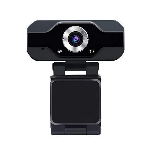 Jinclonder 1080p computer met microfooncamera USB-driver en automatische installatie - eenvoudig te installeren geïntegreerde stereo-microfoon-videowebcam HD-autofocus correctie