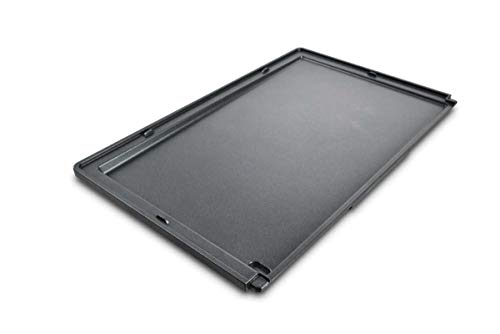 Solis Flache Platte Deli Grillplatte - passend für den Solis Deli Grill 7951 - Hochwertige Whitford Xylan Antihaftbeschichtung - Gesundes Grillen - Spülmaschinenfest