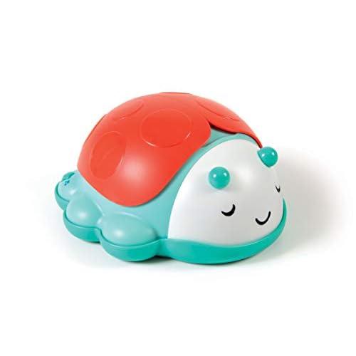 Baby Clementoni For You - 17265 - Light & Sounds Stars Projector, proiettore luci da culla (batterie incluse), gioco neonato, Multicolore