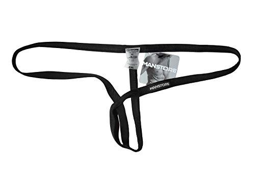 MANSTORE - M800 Tarzan Strap - Color negro - Talla XXL - Edición limitada (Ropa)