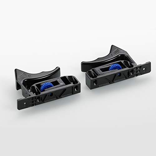 Schnäpper für Holzschubkästen mit genutetem Boden (Quadro 25 und Quadro V6), links/rechts