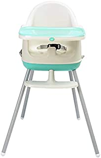 3 in 1 Baby Highchair Premium Quality Durable Child Eating Feeding Table Seat High Chair (Blue)