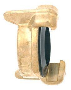 Siena Garden Wassertechnik 571333 Laiton Raccord obturateur compatibilité Universelle, avec alésage F ¿R Chaîne