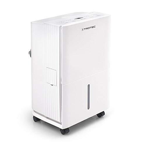 TROTEC Komfort Luftentfeuchter Bautrockner TTK 65 E (max.20 L/Tag, geeignet für Räume bis 110 m³ / 45 m²)