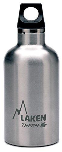 Laken Futura Botella Térmica de Acero Inoxidable 18/8 y Aislamiento de Vacío con Doble Pared. 350, 500 y 750 ml. (750 ml, Plateado)