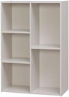 アイリスオーヤマ 収納ボックス 棚 本棚 カラーボックス 2・3段 化粧品収納ボックス 収納棚 棚 おしゃれ ラック 棚ラック ラック棚 おもちゃ キッチン 収納 幅60×奥行29×高さ88cm オフホワイト CX-23C