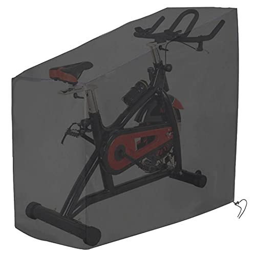 Tonhui Exercise Bike Cover, Upright Indoor Cycling Protective Cover Dustproof Waterproof Cover Ideal for Indoor Or Outdoor Use