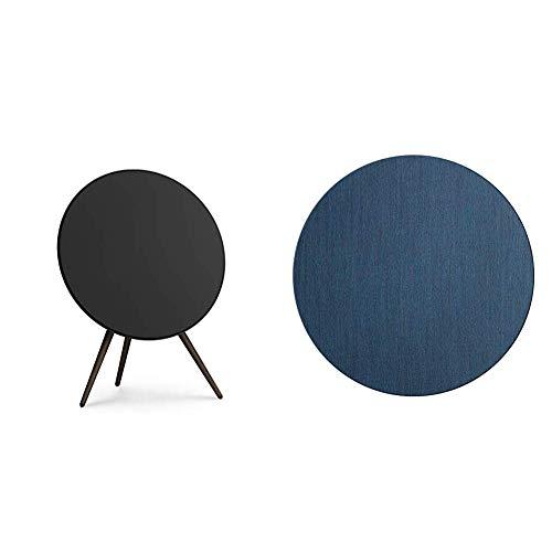Bang & Olufsen Beoplay A9 4. Generation Lautsprecher (legendärer, kabelloser Lautsprecher) schwarz, mit zusätzlichem blauen Cover