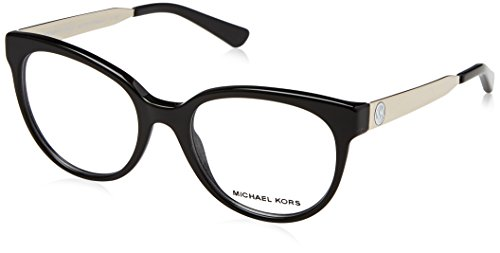 Michael Kors Granada, Monturas de Gafas para Mujer, Black, 50