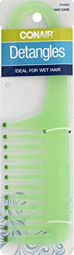 Conair Comb Shower Size, 6.4 Ounce - Colors May Vary