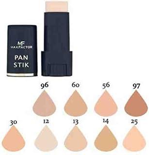 Max factor–Pan Stick cara Fundación Make Up, más de 10diferentes cosméticos Shades poducts a elegir color (30verde, 1Pack)