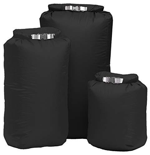 EXPED X20150046 Waterproof Bergen Liners + 2 Pocket Liners Black - Doublure pour sac Plier étanche, Plus 2 doublures de poche, couleur noir
