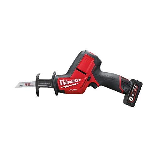 Milwaukee 4933451511 - M 12 chz-602c sierra sable 12 v fuel 6,0 ah litio fixtec