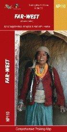 Nepal Far-West Region: 1:150,000 Trekking Map (The Great Himalaya Trail Series Maps) (NP110)