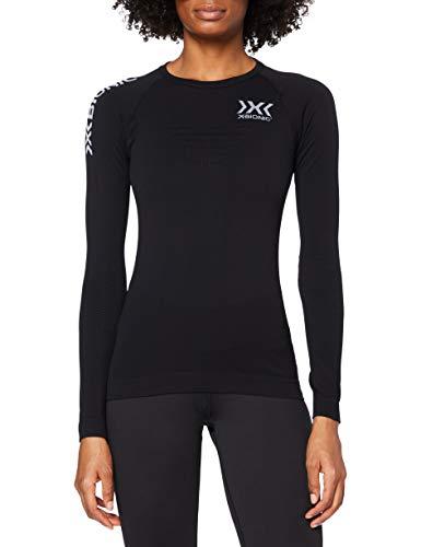 X-Bionic O100771 T-Shirt à Manches Longues Femme, Noir/Noir, FR : S (Taille Fabricant : S)