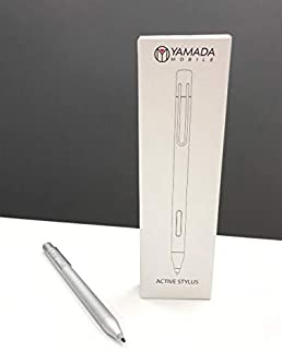 Yamada - Creative Surface Pen (Silver) Stylus Pencil Compatible for Surface Pro 4/5/ 6 Touch Screen Devices