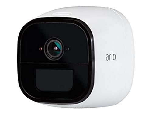 Arlo Go, Telecamera di Sorveglianza 4G, 3G LTE 100% senza Fili, Compatibile con Sim di Qualsiasi Operatore, Archiviazione Cloud, Interno Esterno, Funziona con Alexa e Google Wi-Fi, VML4030-100PES