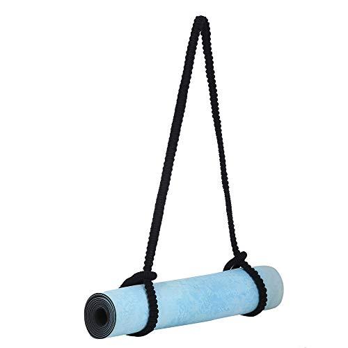 Yogamatta bärrem och hållare – äkta bomull makramé justerbara bälten hängande bärare mattor...