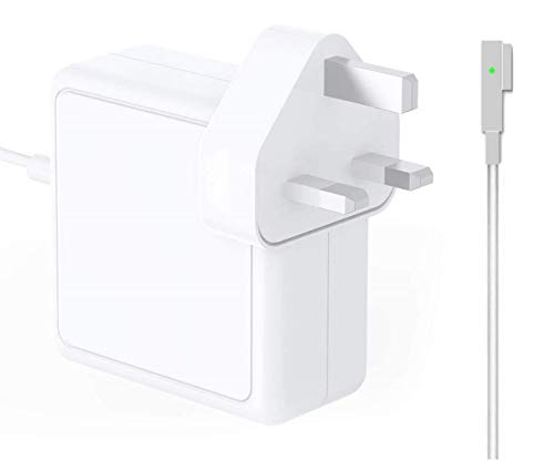 Zasun Compatible With Mac Book Pro Charger 60W Magnetic Power Adapter Magssafe L-Tip Connector Replacement for Mac Book Pro 13-inch and Mac Book Air 11-inch & 13-inch (2009 Late 2010 2011 2012 Summer)